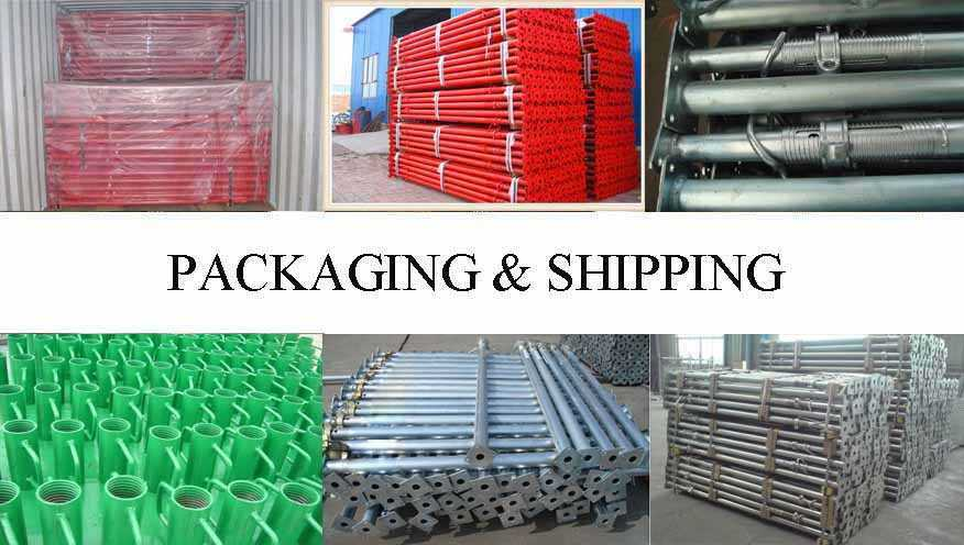 Packaging & Shipping of Scaffolding Prop Maufacturer in East Tinor