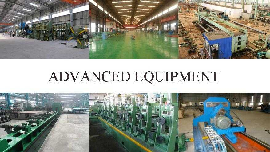 Advanced equipment of High quality Steel Tube Manufaturer In China