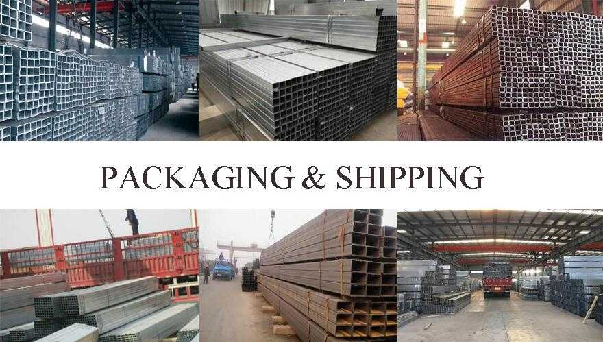 Packaging and shipping of High quality Steel Tube Manufaturer In China