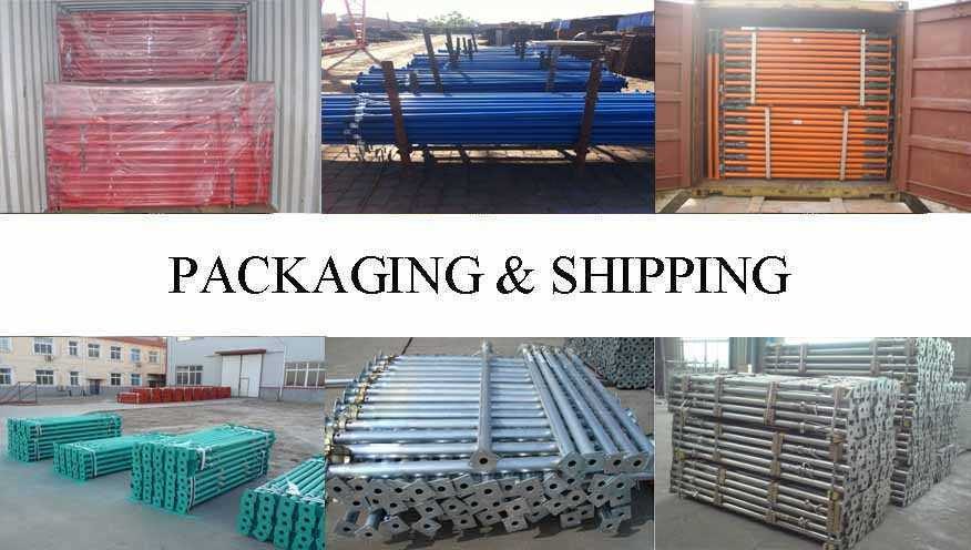 Packaging & Shipping of Scaffolding Prop Manufacturer in Cambodia with best price