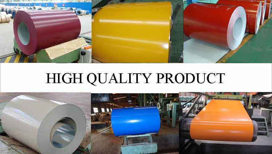 High quality product of PPGI Steel Coil Manufacturer  in Madagascar