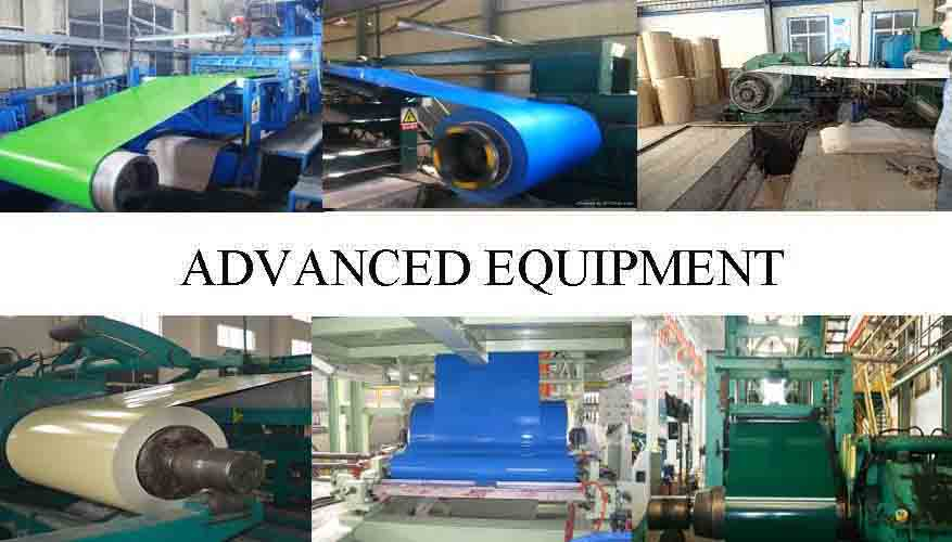 Advanced equipment of PPGI Steel Coil Manufacturer in Madagascar