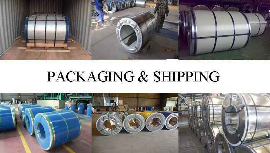 Packaging and shipping of PPGI Steel Coil Manufacturer in Madagascar