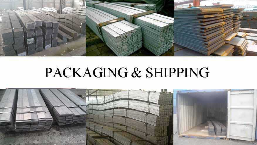Packaging & Shipping of Good quality  Flat Bar supplier in Cambodia