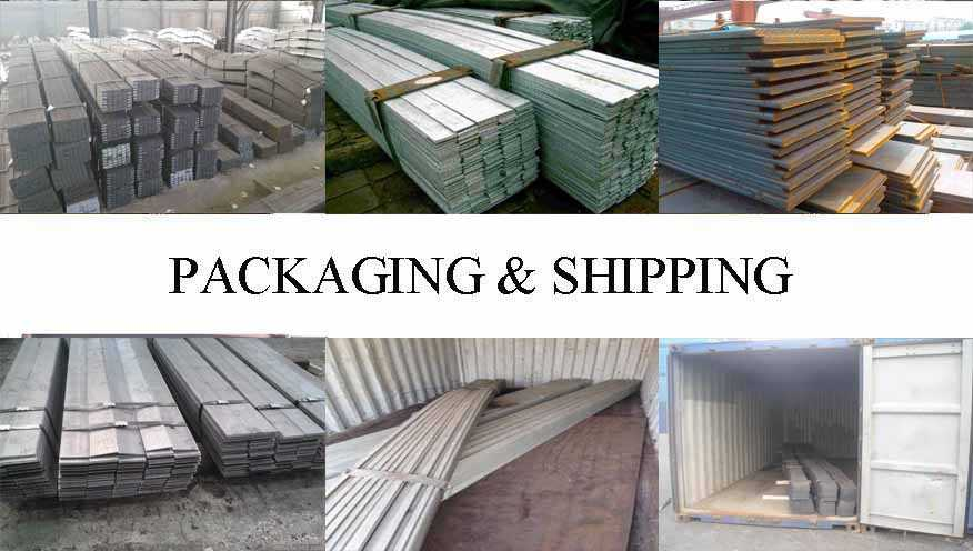 Packaging & Shipping of Flat Bar supplier in East Tinor with best price