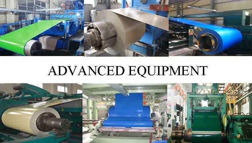 Advance Equipment Of Z90  PPG Steel Coil Supplier in Uganda