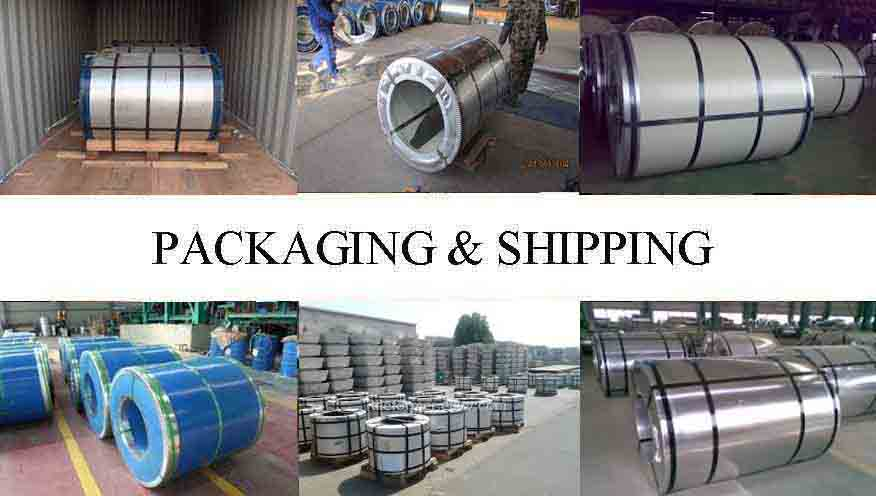 Pankaging And Shipping Of Z90  PPG Steel Coil Supplier in Uganda