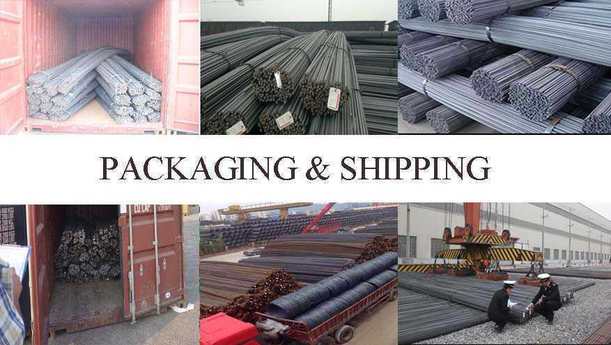 packing and shiping rebar dupplier in India