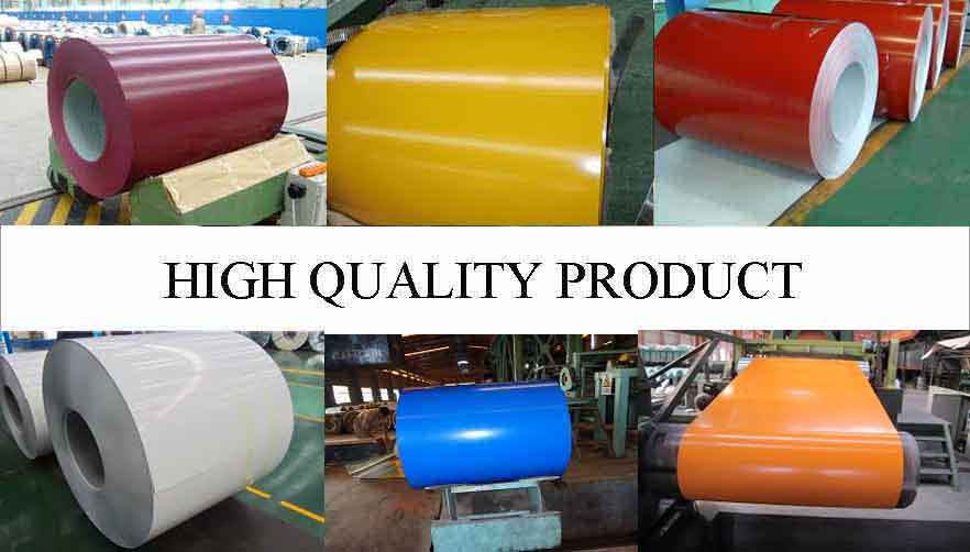 High Quality Product Of High quality PPGI Steel Coil Supplier  in Madagascar