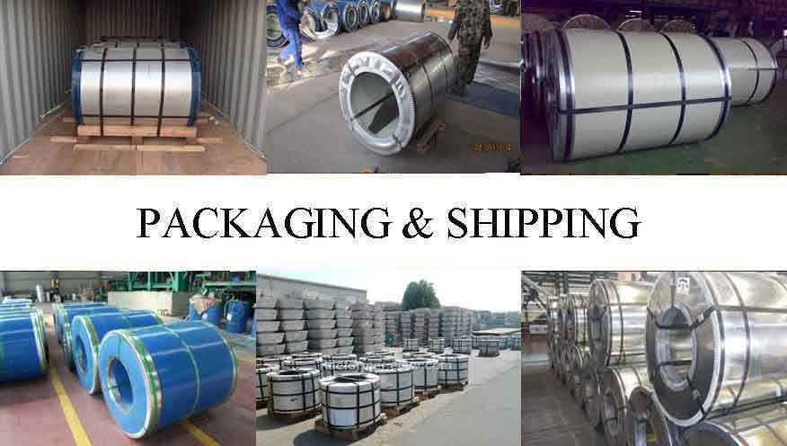 Packaging And Shipping Of High quality PPGI Steel Coil Supplier in Madagascar