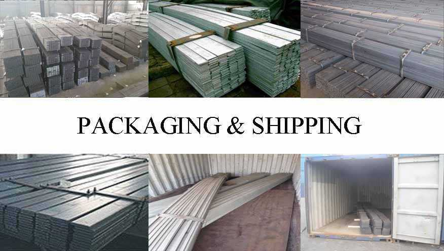 Packaging & Shipping of Flat Bar manufacturer in Thailand  with best price