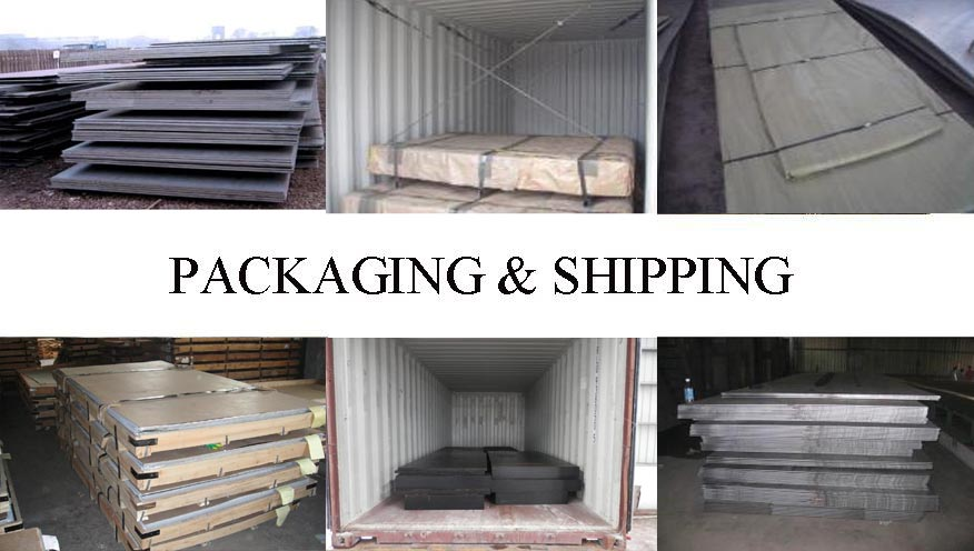 Packaging & Shipping of Hot sale Steel Plate supplier in Brunei