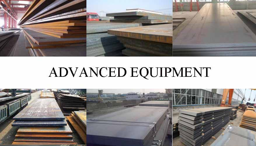 Equipment of Hot sale Steel Plate supplier in Myanmar