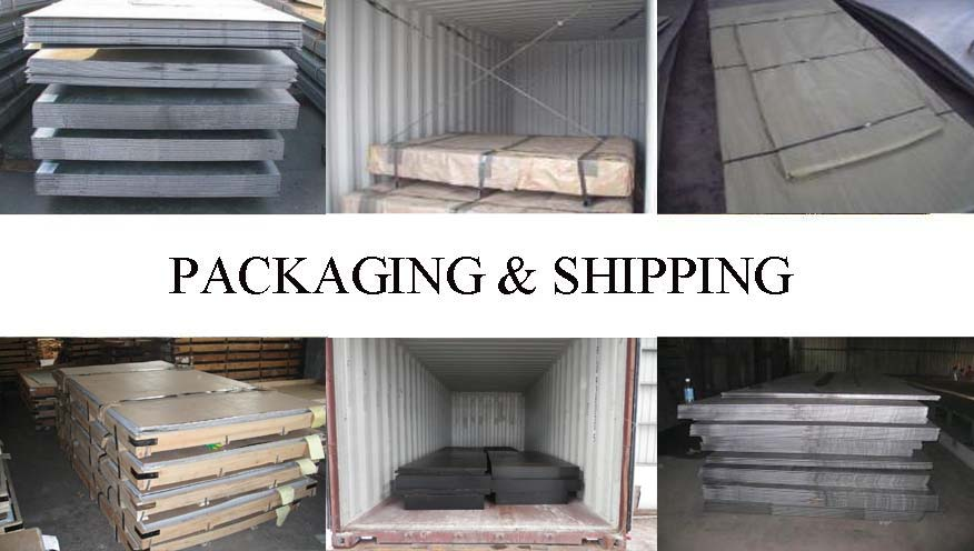 Packaging & Shipping of Hot sale Steel Plate supplier in Myanmar