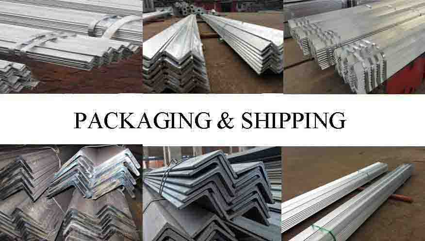 Packaging And Shipping Of ASTM A36 Angle Bar Supplier in kenya
