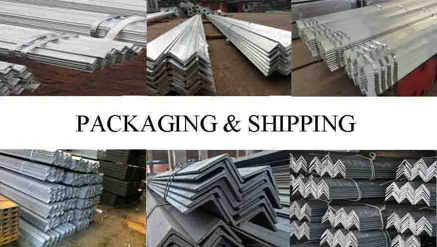 Packaging And Shipping Of ASTM A36  Angle Bar Supplier in Ethiopia