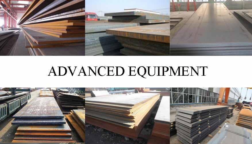 Equipment of Steel plate manufacturer in Indonesia with good quality