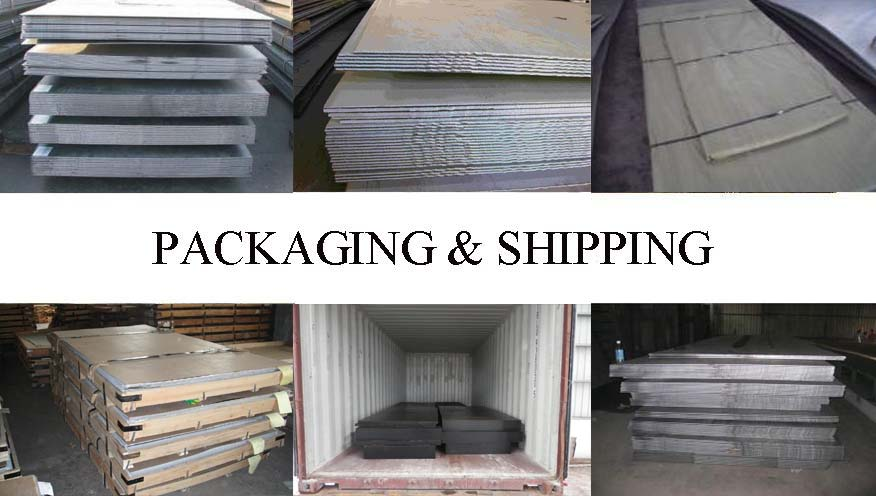 Packaging & Shipping of Steel plate manufacturer in Indonesia with good quality