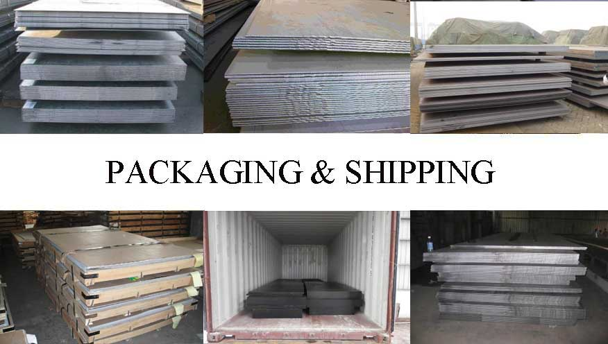 Packaging & Shipping of Steel Plate manufacturer in Malaysia with best price