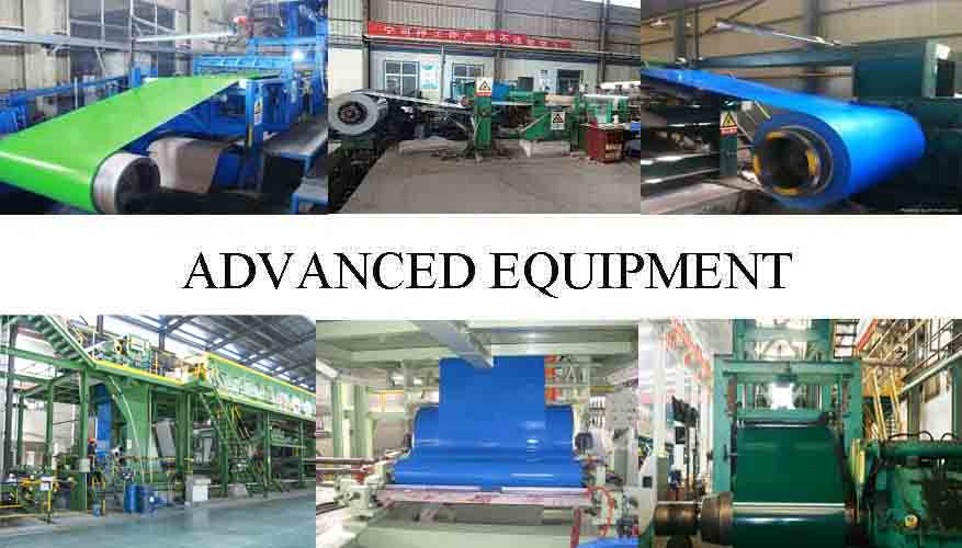 Advance Equipment Of High quality PPGL Steel Coil Manufacturer  in Rwanda