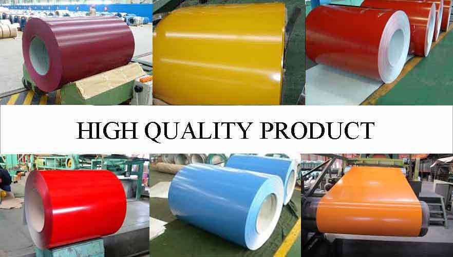 High Quality Product Of AISI PPGL Steel Coil Manufacturer