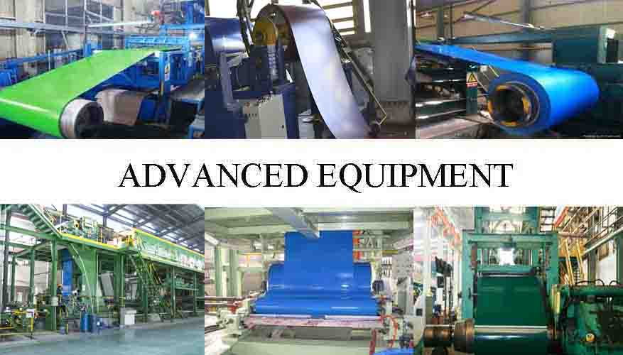 Advance Equipment Of AISI PPGL Steel Coil Manufacturer