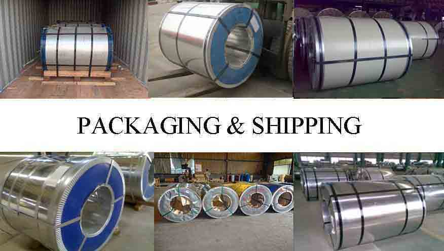 Packaging And Shipping Of AISI PPGL Steel Coil Manufacturer