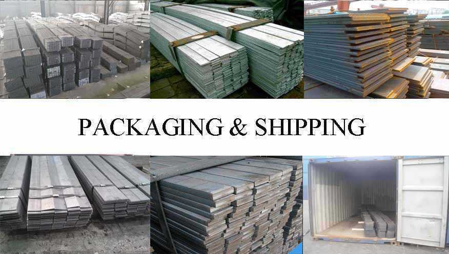 Packaging & Shipping of Flat Bar manufacturer in Philippines