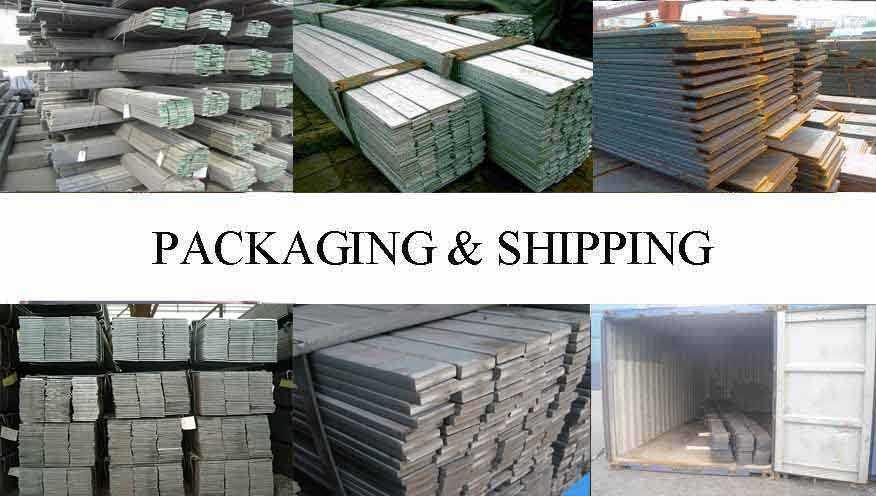 Packaging & Shipping of Flat Bar supplier in Brunei