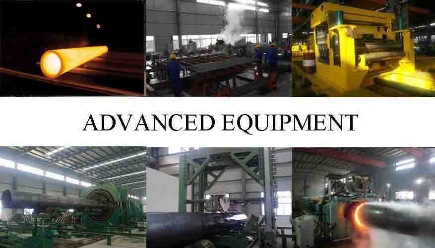 Advance Equipment Of ASTM A106 Seamless Steel Pipe Manufacturer in Iran