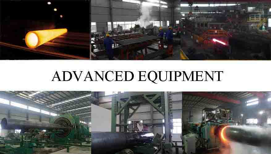 Advance Equipment Of API5L Seamless Steel Pipe Manufacturer in Iran