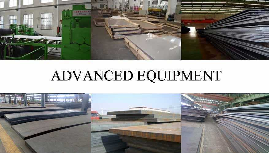 Equipment of Q215 Q235 Steel Plate supplier