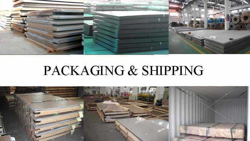 Packaing & Shipping of Hot rolled Steel Plate supplier