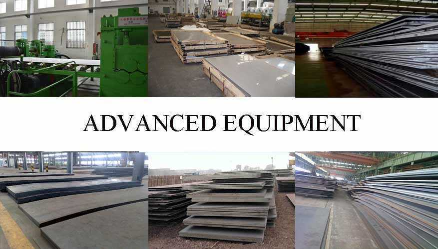 Equipment of Steel Plate manufacturer in East Tinor