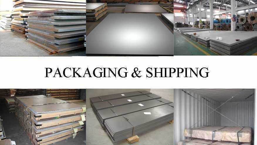 Packaging & Shipping of Steel Plate manufacturer in East Tinor