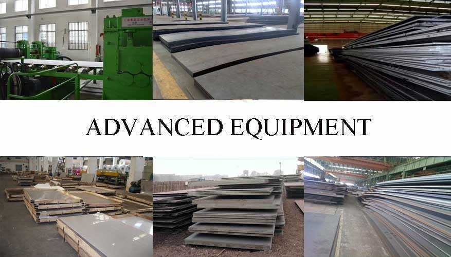 Equipment of a36 Steel Plate manufacturer