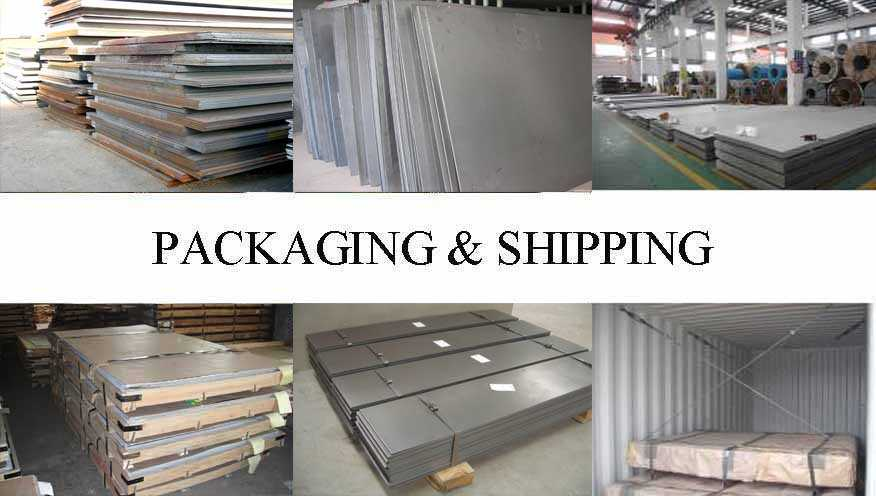 Packaging & Shipping of a36 Steel Plate manufacturer