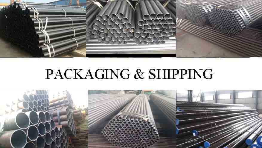 Packaging And Shipping Of ASTM A 53 Seamless Steel Pipe Supplier in Tanzania
