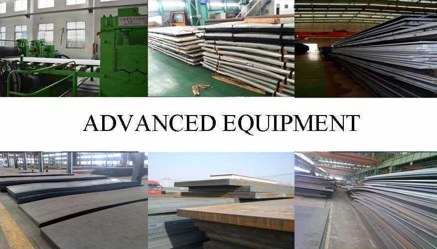Equipment of Q235 Q255 Steel sheet supplier