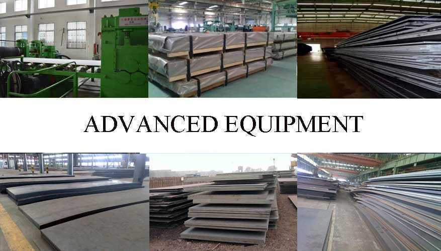 Equipment of Steel Sheet manufacturer in China