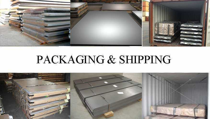 Packaging & Shipping of Steel Sheet manufacturer in China