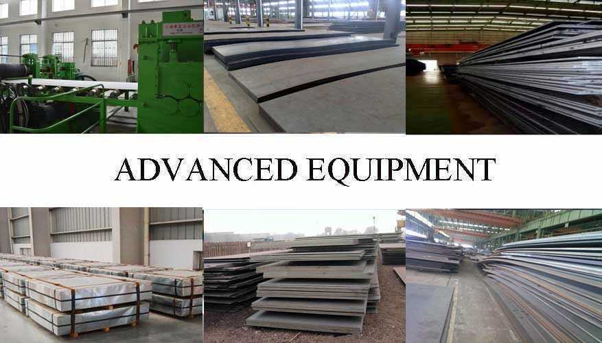Equipment of DIN Steel Sheet Manufacturer