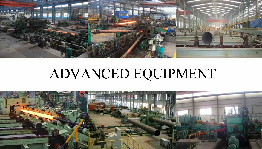 Advanced equipment of API 5L Seamless Pipe made in china