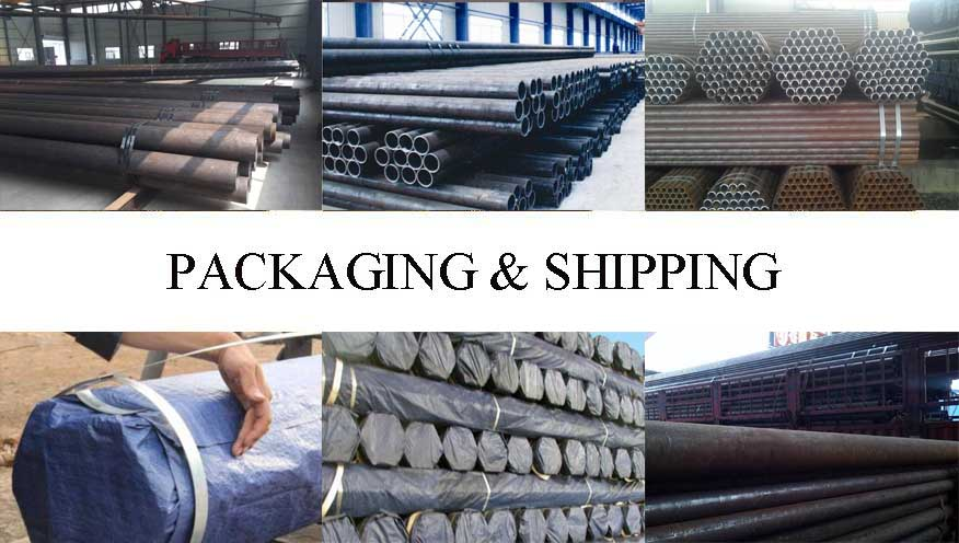 Packaging and shipping of API 5L Seamless Pipe made in china