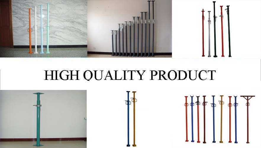 High quality product of Q195 Q215 Q235 Scaffolding prop supplier
