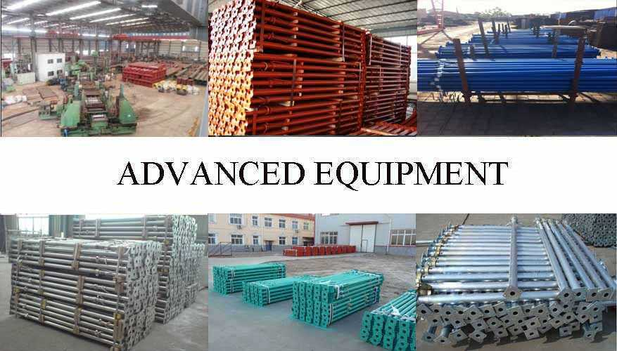 Equipment of Q195 Q215 Q235 Scaffolding prop supplier