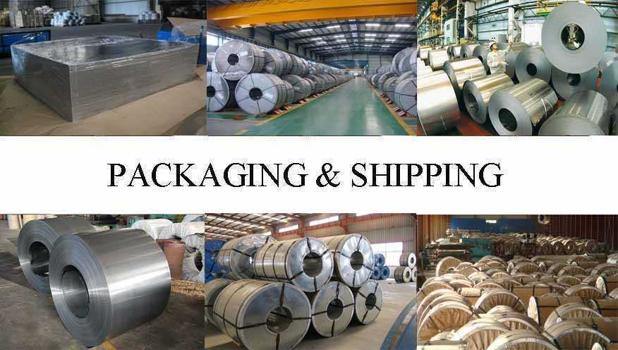 Packaging & Shipping of Tinplate supplier in Brunei