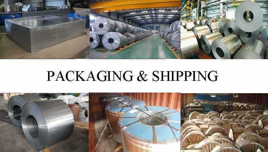Packaging & Shipping of Tinplate supplier in Myanmar