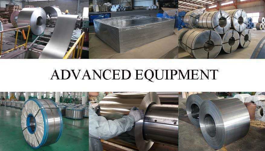 Equipment of Tinplate manufacturer in East Tinor