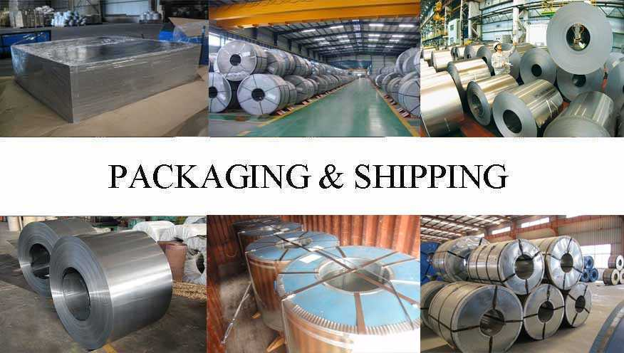 Packaging & Shipping of Tinplate manufacturer in East Tinor